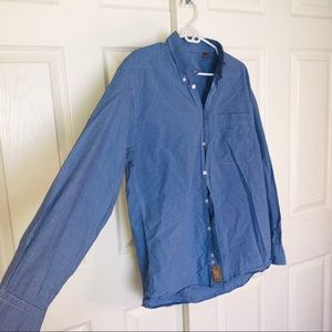 Gitman Gold Button Down Shirt Size M